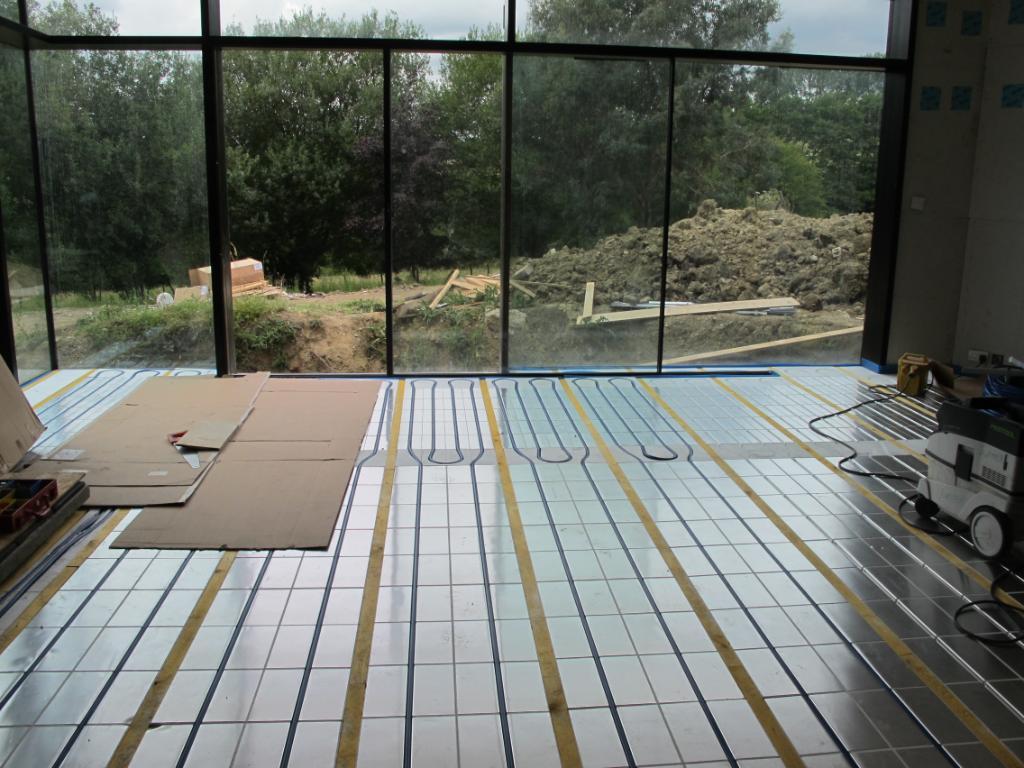 Fußboden Trockenbauweise ~ Thermisto fußbodenheizung holzdielen Öko bau zentrum