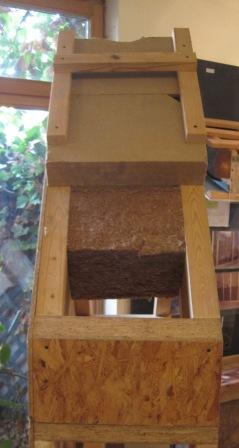 Dämmung aus Holzfaserplatten