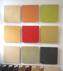 Linoleum - strapazierfähig in schönen Farben
