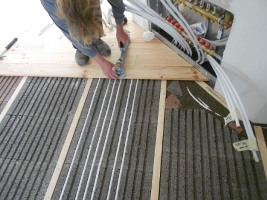 Fußbodenheizung-Lithotherm