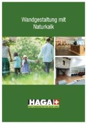 HAGA-Wandgestaltung mit Kalk