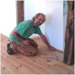 Fußboden-Verlegung