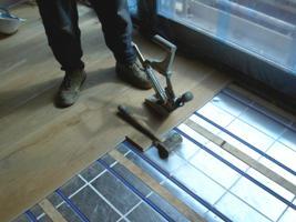 Eichedielen-Holzfußboden