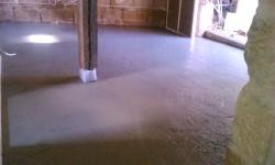 Liaver Fußbodenschüttung