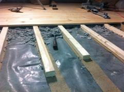 Fußbodenaufbau ohne Estrich