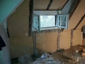 Dachdämmung-Holzfaserplatten