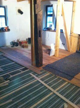 Fußbodenheizung-Lithotherm-Holzdielen