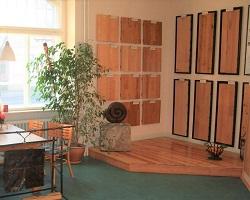Ausstellung Holzfußboden