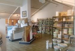 Naturbaustoffe im Laden Gießen