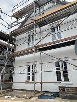 Neue Fenster in der Sanierung