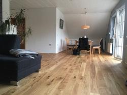 Fußboden und Wandgestaltung